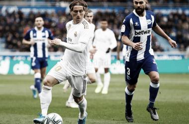 Imagen del último encuentro entre Alavés y Real Madrid.| Fuente: Real Madrid C.F www.realmadrid.com