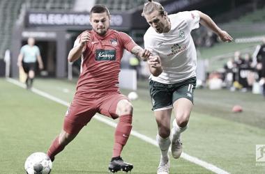 Werder Bremen y Heidenheim lo dejan para la vuelta