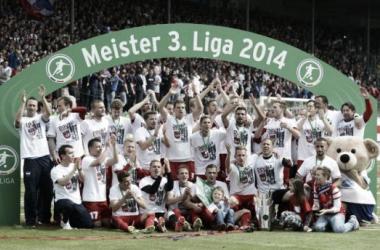 Heidenheim e RB Leipzig sobem para a 2.Bundesliga; Darmstadt enfrenta Bielefeld nos playoffs