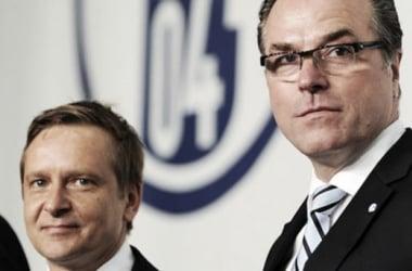 "Horst Heldt believes Schalke are ""heading in the right direction"""