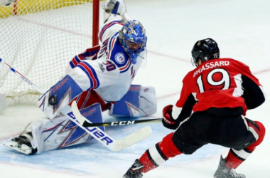 The young squad of the Ottawa Senators will look to takedown the experienced New York Rangers squas. Photo: Fred Chartrand/The Canadian Press