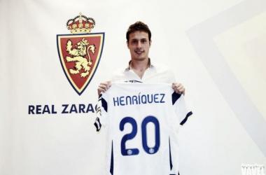 Las nuevas caras del Real Zaragoza: Henríquez