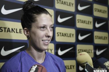 La atacante española vuelve al FC Barcelona tras dos años fuera / Foto: Noelia Déniz (VAVEL.com)