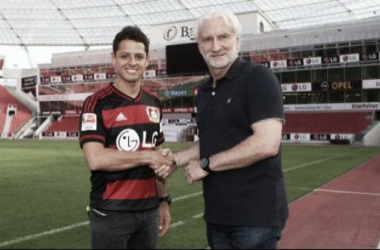 Bayer Leverkusen splash the cash on Javier Hernandez from Manchester United