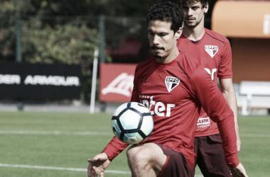 Hernanes retornou ao São Paulo recentemente (Foto: Rubens Chiri/São Paulo FC)