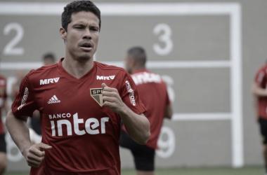 """<p class=""""MsoNormal"""" align=""""center"""" style=""""text-align:center""""><i>Foto: Érico Leonan / São Paulo FC<o:p></o:p></i></p>"""