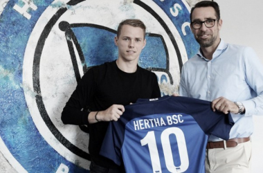 The Legia Warsaw man had also been linked with Arsenal in recent times. (Photo: Hertha BSC)