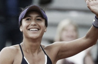 Heather Watson made her way to round two with a win over doubles partner Nicole Gibbs. (Photo: AP)