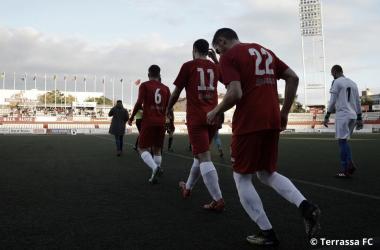 El Terrassa recibe este domingo al Castelldefels | Foto: Juanma Medina (Terrassa FC)