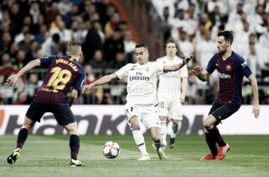 Lucas Vázquez fue titular en lugar de Bale/ Foto: Real Madrid C.F