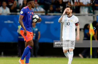 Colombia 2-0 Argentina: Messi left frustrated as Los Cafeteros take all three points in Group B