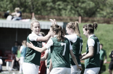Hibernian will be looking to keep up the pressure on Glasgow City in the SWPL 1. Photo: Twitter @HibsLadies