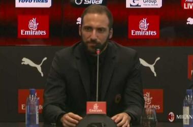 Milan, la carica di Higuain verso il derby