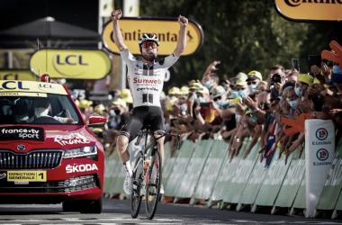 La perseverancia de Hirschi en el Tour acaba teniendo premio