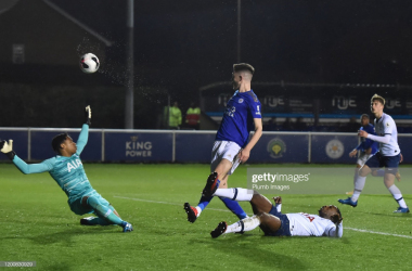 Leicester City U23 3-2 Tottenham Hotspur U23: Hirst double puts Foxes top of table