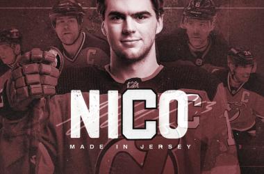 New Jersey presenta a Nico Hischier como su nuevo capitán | Foto: NHL.com