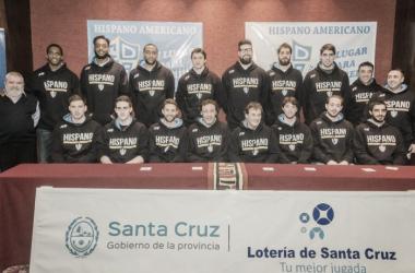 El plantel del equipo sureño que representará a la provincia de Santa Cruz. Foto: La Liga Contenidos