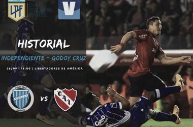 ESTIRAR LA RACHA. Godoy Cruz supera en el historial a Independiente y quiere continuar por la misma senda. Foto: Vavel Godoy Cruz