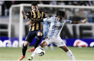 Fecha 1 del Campeonato de Primera División 2015, Rosario Central le gara a Racing 1-0. | Fuente: A puro gol.