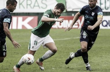 Ferro 0-0 Gimnasia y Esgrima de Jujuy (Foto. Oscar De la Vega)