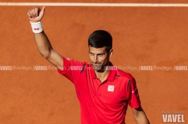 Galería de imágenes de la victoria de Novak Djokovic sobre Borma Coric