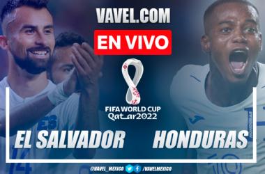 Resumen: El Salvador 0-0 Honduras en Eliminatorias CONCACAF para Catar 2022