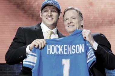 TJ Hockenson, TE de Iowa, el primer pick de los Lions en este Draft (Foto: NFL.com)
