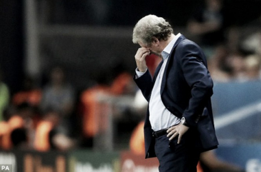 Hodgson's position was left untenable after the shock defeat to Iceland (photo; PA)