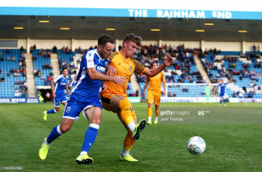 Lee Hodson leaves Gillingham on loan
