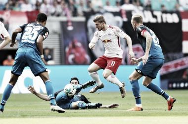 RB Leipzig vs Hoffenheim por la DFB Pokal | Foto: @achtzehn99_en