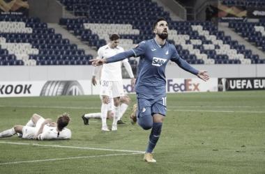 Sem sustos! Hoffenheim goleia Liberec e mantém 100% na Europa League