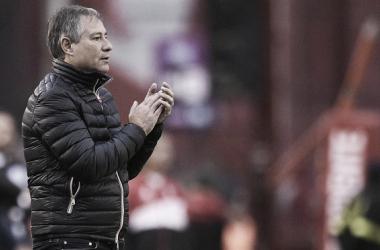 """""""Vamos a cerrar el semestre muy bien"""", pese a la derrota el técnico se mostró optimista. FOTO: MARCA"""