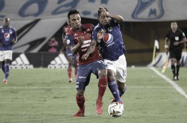 Los datos que dejó la derrota de Medellín frente a Millonarios en 'El Campín'