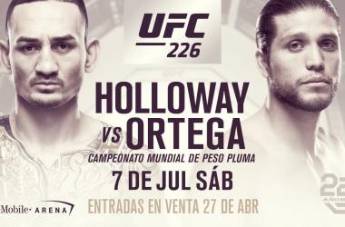 Foto: Pagina Oficial UFC