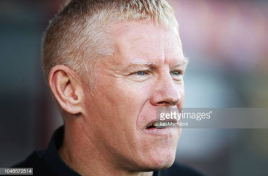 Gary Holt will be confident of a result following a number of encouraging recent performances for his Livingston side. Photo by Ian MacNicol/GettyImages