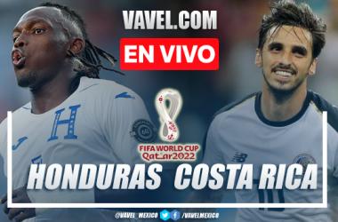 Resumen del Honduras 0-0 Costa Rica en Eliminatorias CONCACAF 2022