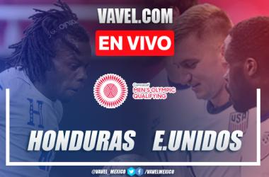 Goles y resumen del Honduras 2-1 Estados Unidos en Preolímpico CONCACAF 2021