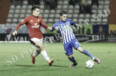 Osasuna Promesas y Deportiva se miden con mucho en juego. | Foto: SD Ponferradina.