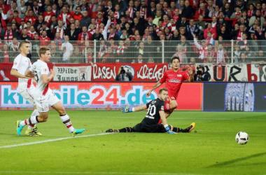 1. FC Union Berlin 2-0 FC St. Pauli - Hosiner and Redondo keep up superb start to the season for die Eiserne