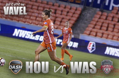 Houston Dash vs Washington Spirit: Dash and Spirit meet for the first time this season. | Photo: EarchPhoto
