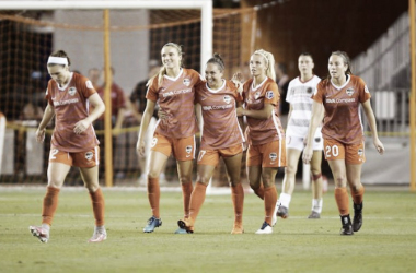 Houston Dash vs. Portland Thorns recap: A goal in each half leads to a draw | Photo: Houston Dash