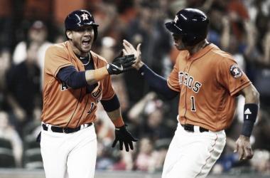 Los Astros arrasando en su división