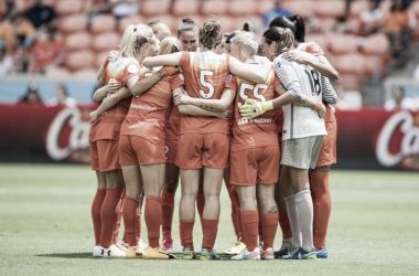 The Houston Dash announce their preseason roster. | Source: Trask Smith