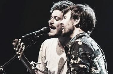 Luis Cepeda y David Otero cantando / Foto: Youtube