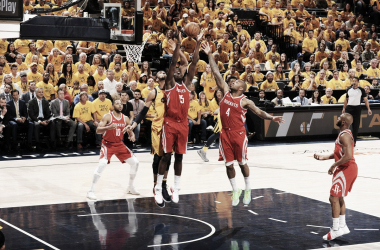 Clint Capela. Fonte: NBA/Twitter