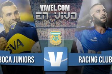 Resultado Boca Juniors vs Racing (4-2)