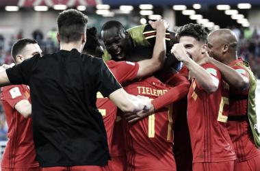 Inglaterra-Bélgica: puntuaciones de Bélgica, tercera jornada grupo H