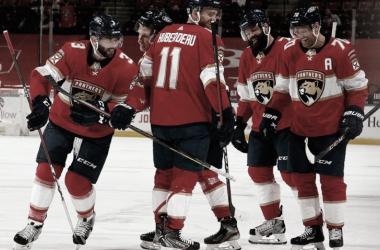 Los Panthers son la sorpresa más grande en lo que va de campaña. NHL.com.