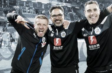 David Wagner, Christoph Bühler y Andrew Hughes se quedan en el Huddersfield Town /Foto: Huddersfield Town.