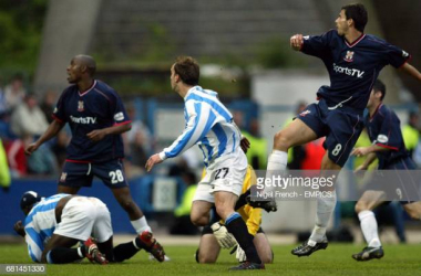 <div>These sides last met in 2004, will Huddersfield come out on top again? (Photo by Nigel French/EMPICS via Getty Images)</div>